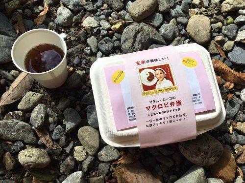 瞑想ピクニックin摂津峡 マダム・カーコのマクロビ弁当